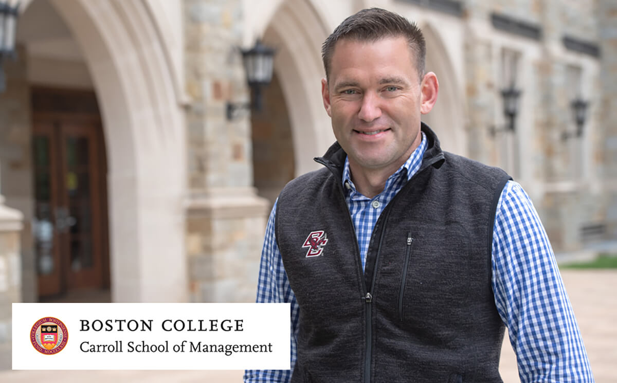 Student Spotlight: Boston College, David Cote