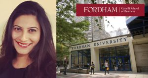 Student Spotlight: Gabelli School of Business, Samyukta Pareek